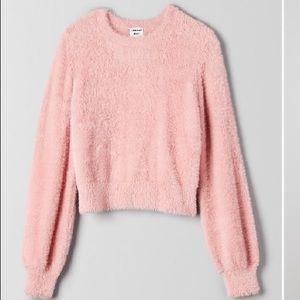Pink Sunday best Aritzia sweater s